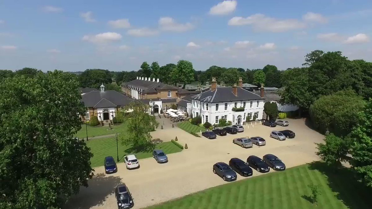 We love this footage of our beautiful hotel and spa in the summer. Surrounded by training stables and rolling countryside. Perfect! #countryside #hotel #relax