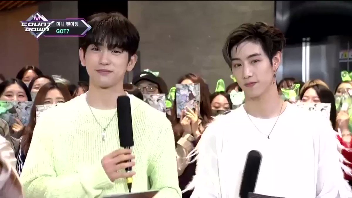 [#MCOUNTDOWN On-Air] @GOT7Official    #GOT7 #minifanmeenting  Watch Now ▶️ https://t.co/WziRSN0IgR https://t.co/5naPONWQqA