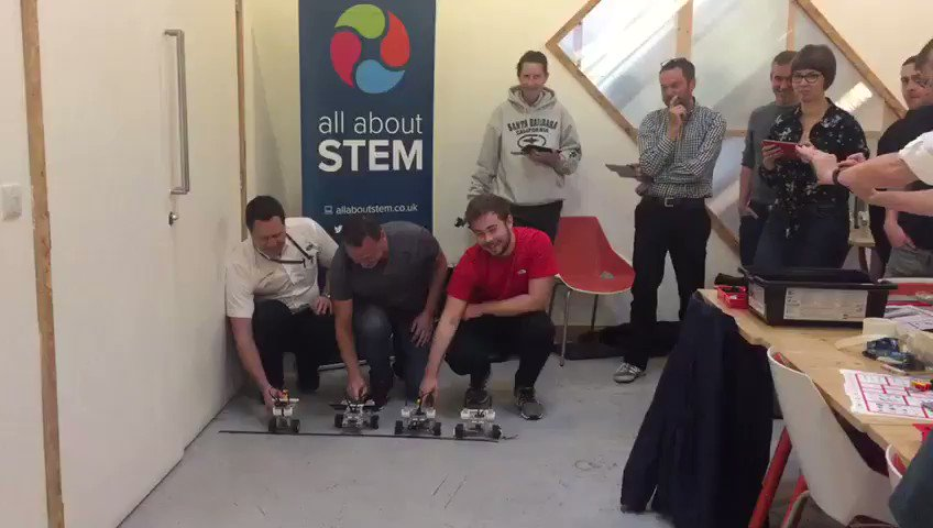 Image for the Tweet beginning: LIVE @STEMambassadors LEGO Mindstorm training:  ...AND