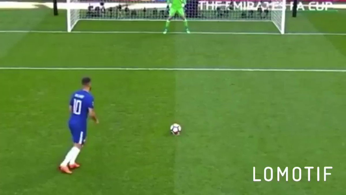 Eden Hazard is the best penalty taker in the world. His technique is sublime, just watch this video. He's unbelievable!