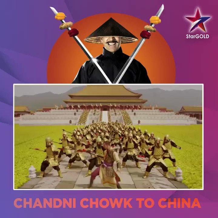 From Chandni Chowk to China, yeh kaun hai ise samajh aaye naa! Tune in to Chandni Chowk to China, today at 5:45 PM. @akshaykumar @deepikapadukone #AkshayKumar #DeepikaPadukone #ChandniChowkToChina