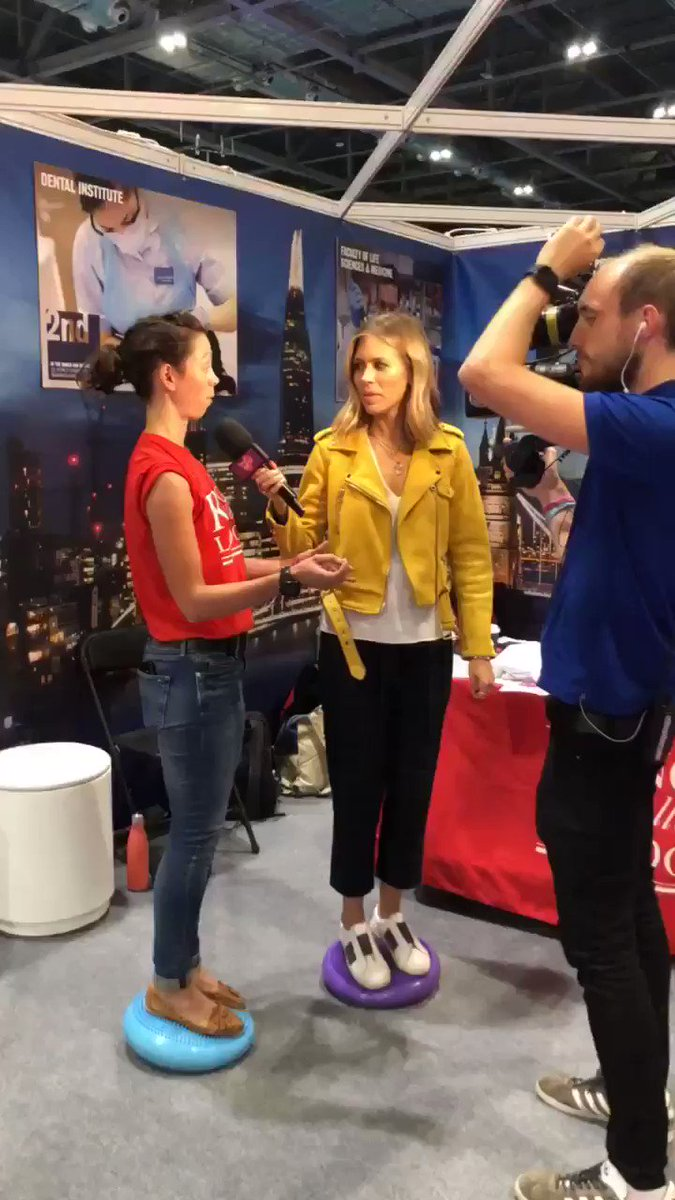 Sarah, our comms and engagement manager, spoke to the #NSLIVE film crew about #twinresearch #balance #generics #genetics @sarahrhian @kingsmedicine