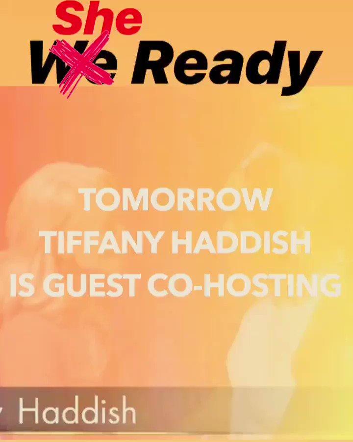 🙌🏼🙌🏼 @TiffanyHaddish is guest co-hosting TOMORROW! #KellyandRyan #TiffanyHaddish