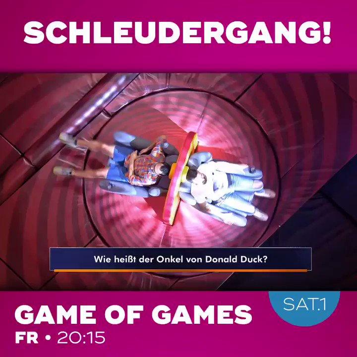 Am Freitag geht's bei Game of Games wieder rund! Um 20:15 Uhr in @sat1 📺 #gameofgames https://t.co/nMwyxlGDUP