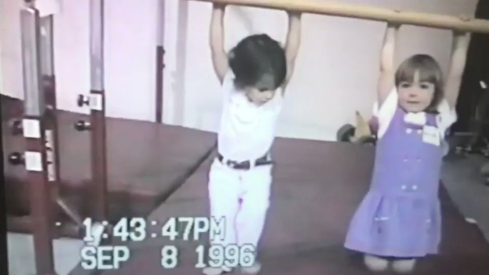 #tbt Starting conditioning early 💪🏻💙..... I was 2 years old here. Video taken by my dad! 😊