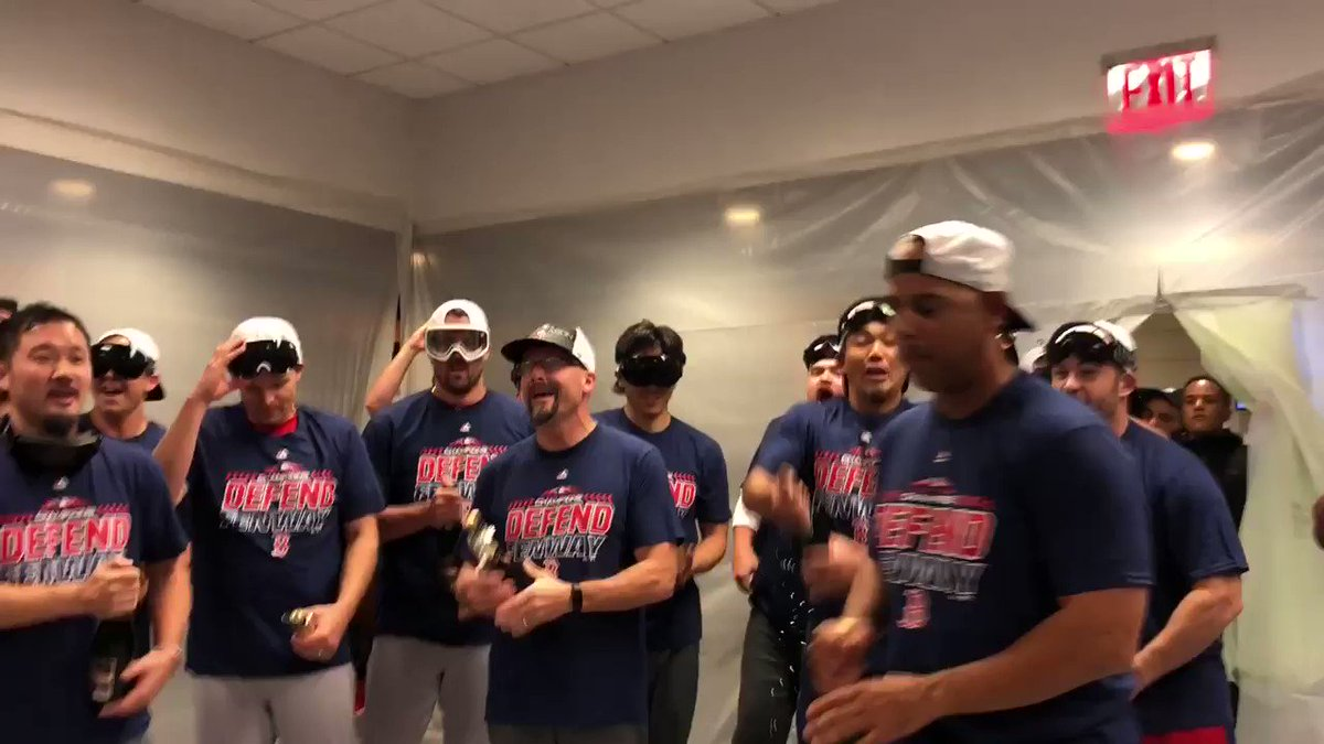 And the AL East goes to...  THE BOSTON RED SOX!!! �� https://t.co/E4ebdYXQoH