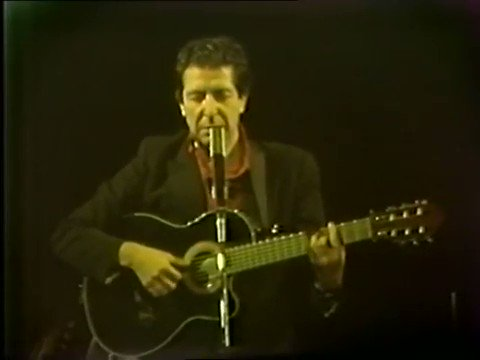 """We are ugly, but we have the music.\"" Happy Birthday, Leonard Cohen."