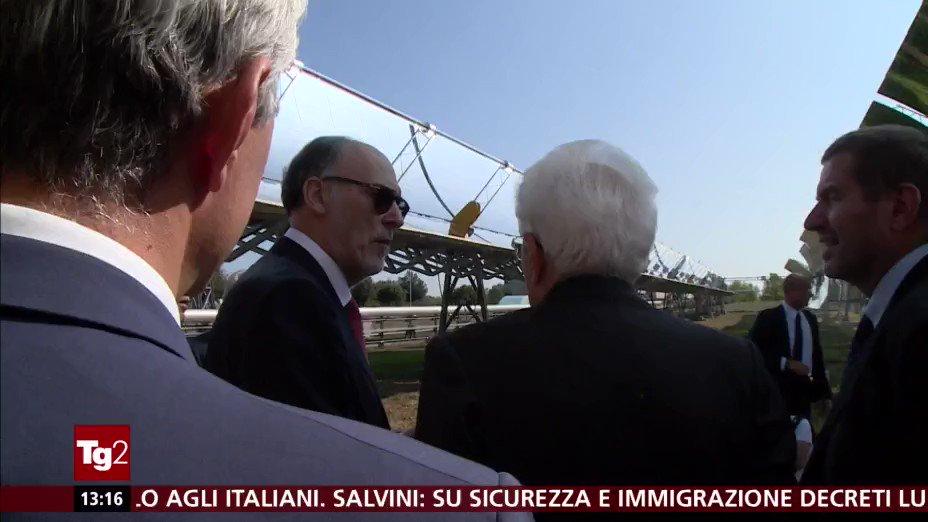 Il monito del presidente della #Repubblica #SergioMattarella in visita ai laboratori dell\