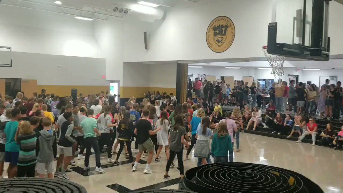 1st dance of the year, thank you for organizing this event FMS PTO