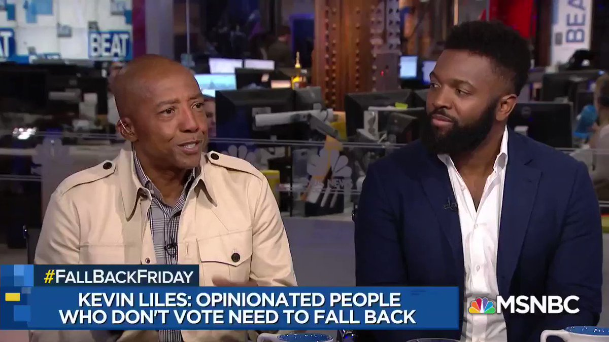 'Anybody who has an opinion and a mouth that did not vote, needs to #fallback' - @KevinLiles1 https://t.co/PRe6hwiZxK
