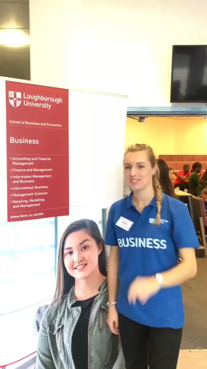 Loughborough Uni Sbe On Twitter We Re Ready For Lboroopenday Day