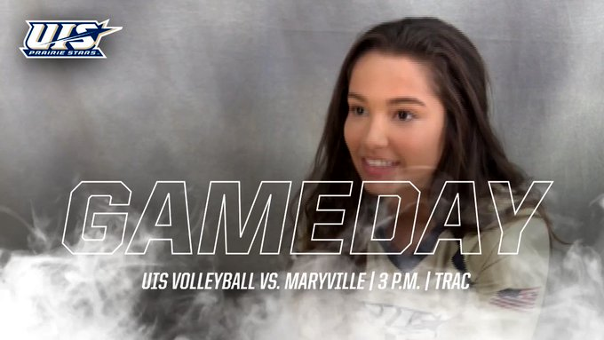 RT @UISAthletics: The @UISVolleyball team continues GLVC play this afternoon at TRAC, with a 3 p.m. game against Maryville.   #BeStellar #P…