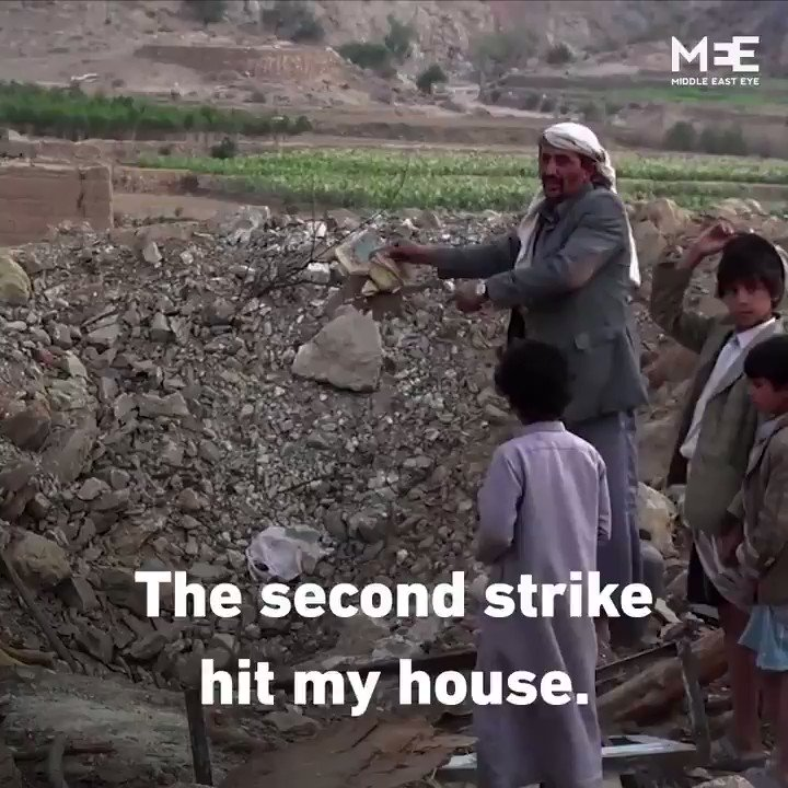 These bombings in Yemen were funded by British taxpayers…