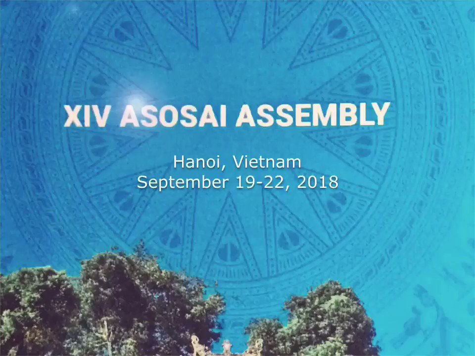 Image for the Tweet beginning: #ASOSAI2018 hosted by SAI Vietnam
