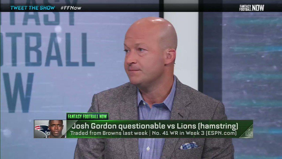 Image for the Tweet beginning: If you drafted Josh Gordon,