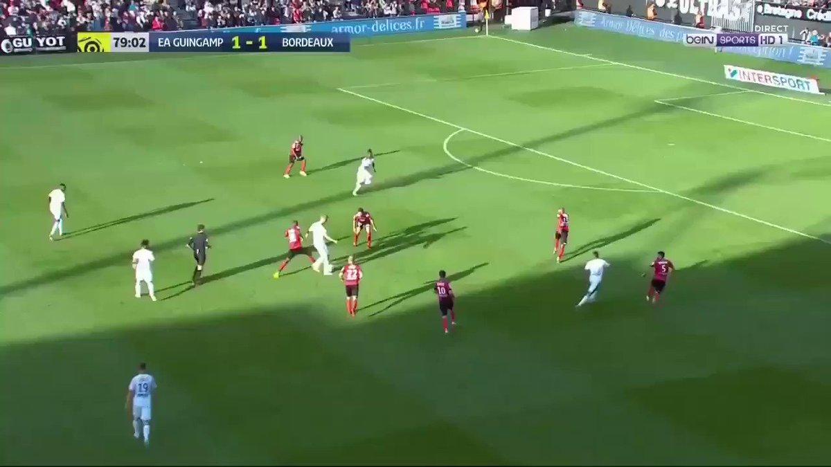 #EAGFCGB BUUUUT pour les #Girondins, alors que #Thuram avait égalisé sur penalty pour l\