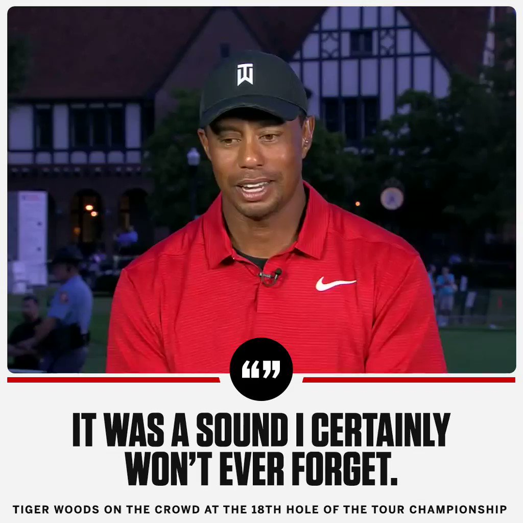 .@TigerWoods knows he wouldn't be here without the fans. https://t.co/Ek66e5ynYL