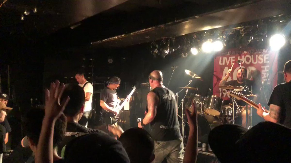 ALL OUT WAR (2018.9.23 新宿ACB)