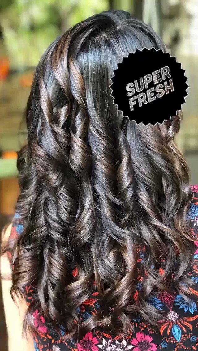 New hair alert! Courtesy: @happyinthehead