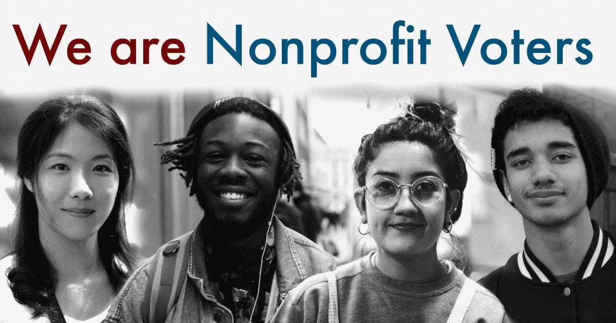 Image for the Tweet beginning: Today is #NationalVoterRegistrationDay! #LANonprofits, do