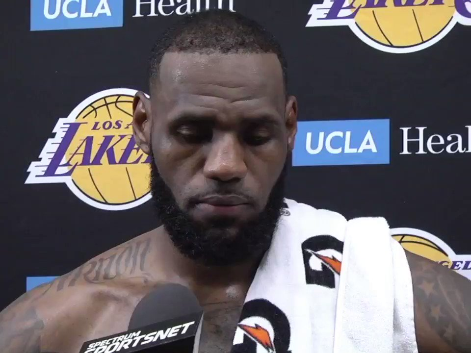 'I signed a 4-year deal. What do you want me to do?'   @KingJames didn't see this question coming �� https://t.co/FiGJ13cLjD