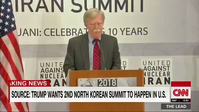 To the Mullahs in Tehran: If you cross us, our allies, or our partners; if you harm our citizens; if you continue to lie, cheat, and deceive—yes, there will indeed be hell to pay. —U.S. National Security Advisor John Bolton, former UN Watch board member