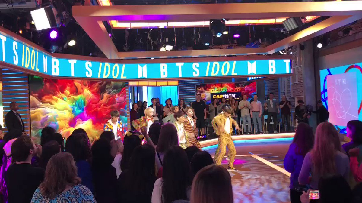 They are so damn dope. @bts_bighit #BTSonGMA @GMA https://t.co/cQWXkCOMCC