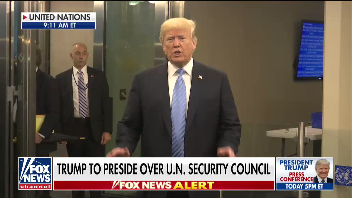 """.@POTUS: """"I just want to see Venezuela straightened out. I want the people to be safe."""" https://t.co/nqwTX8v69o"""