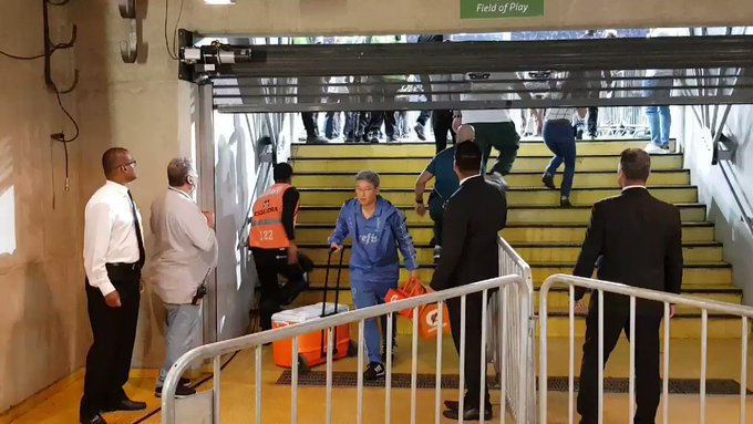 Clássico Cruzeiro X Palmeiras acabou em briga