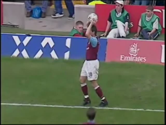 This goal from Paolo Di Canio at the Bridge is 17 years old today. Mama mia. What a fucking ping.