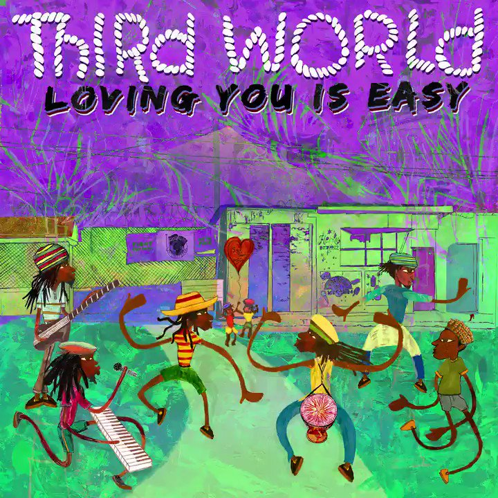 Ive been in the studio working with my musical heroes @THIRDWORLDBAND, producing their upcoming album coming early 2019, and we are very proud to announce the first single #LovingYouIsEasy is now available everywhere!!! Hope you like it!! Listen here: bit.ly/TWLovingYouIsE…