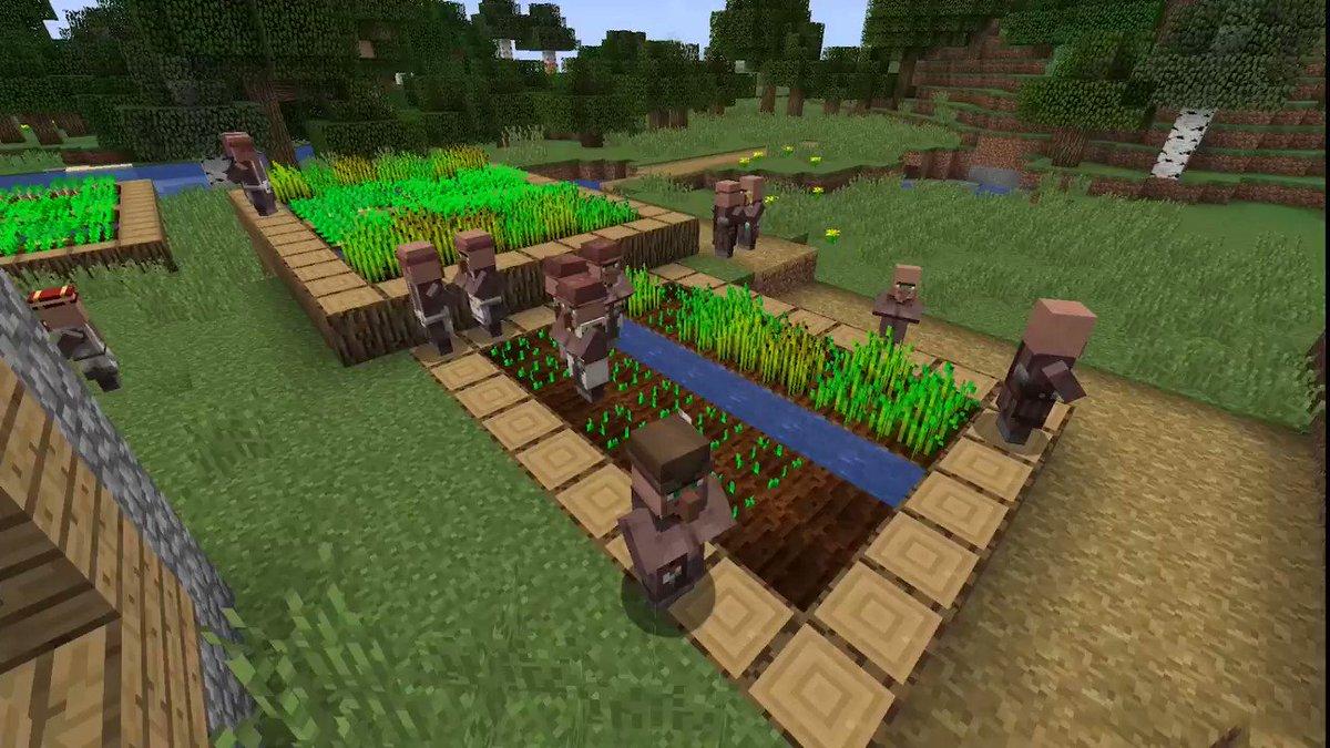 Minecraft On Twitter Introducing Village Pillage Minecraft S