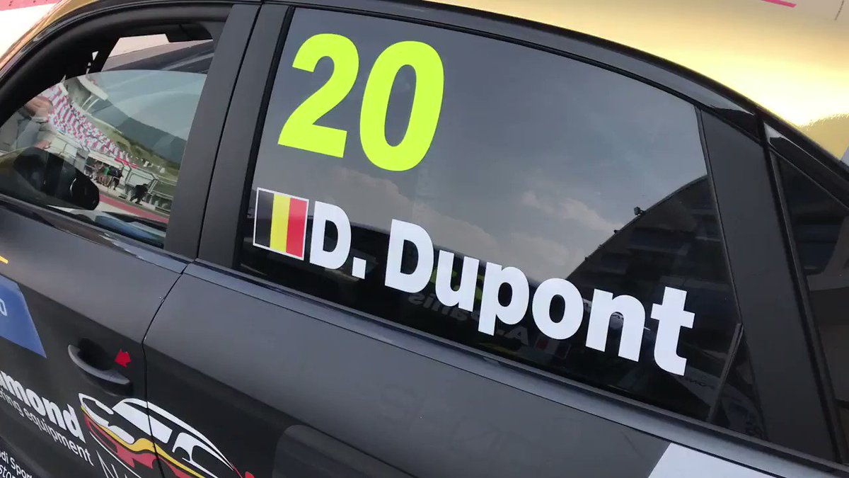 Wow! It's @DupontDenis' day! The young Belgian from the RACB National Team was the best Audi driver in Qualifying 2 of @FIA_WTCR at Ningbo in P6. Audi Sport Team @ComtoyouRacing team-mate Frédéric Vervisch was seventh. #TCR #WTCR #LeagueofPerformance