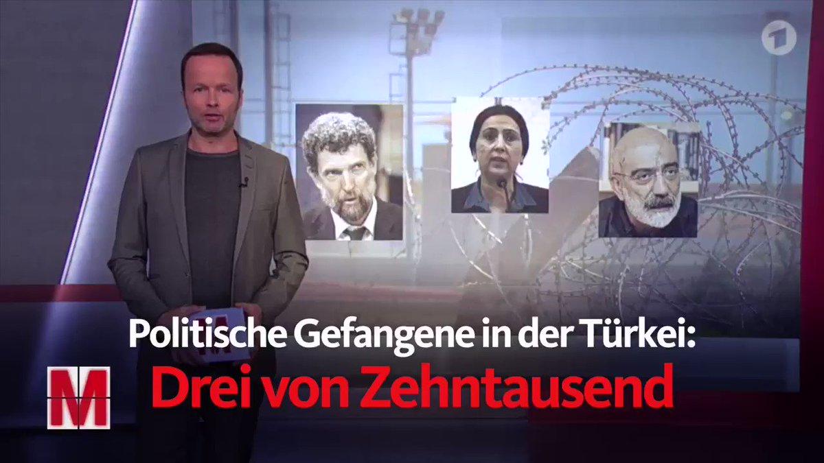 Politische Gefangene in der Türkei: Drei von Zehntausend #OsmanKavala #FigenYüksegdag #AhmetAltan #FreeThemAll
