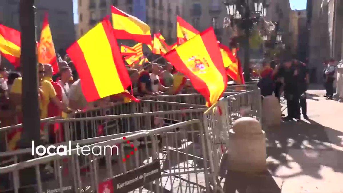 Què passa quan agafes làudio dun discurs d@InesArrimadas i el barreges amb imatges del que realment passa a Catalunya?