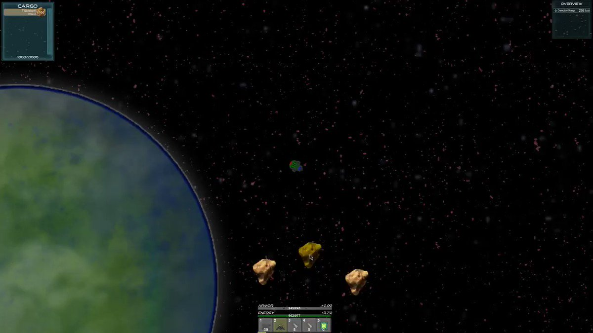Footage of a Federation Mining Frigate in Action! #CitizensofLaniakea        #indiegames #pixelart #Gamers #indiegame #indiewatch #indie #retrogames #gaming #gamedev #indiedev #gameart #Space #Game #multiplayer #Mining #Asteroid #Asteroidmining