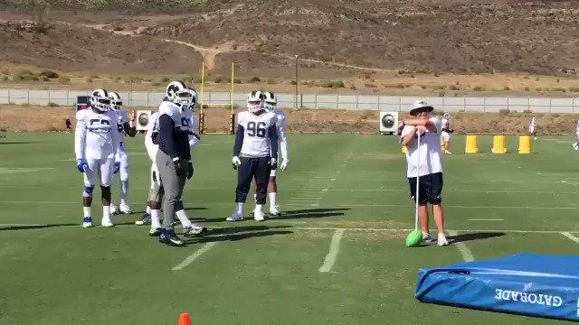 "Ndamukong Suh demonstrates how to ""properly"" sack a quarterback 😂 (via @LindseyThiry)"