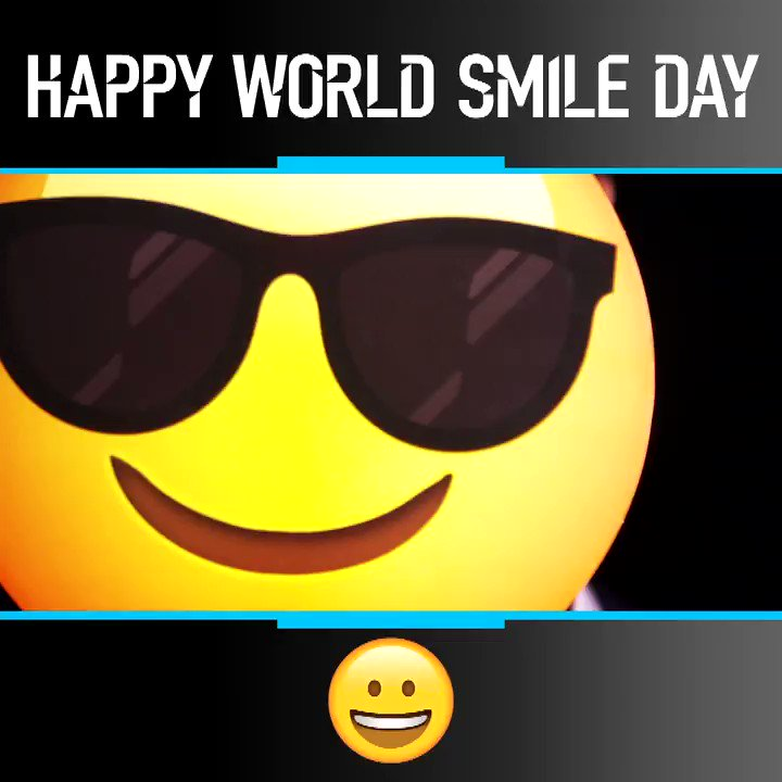 Life's better with a grin on your face 😁 Happy #WorldSmileDay!