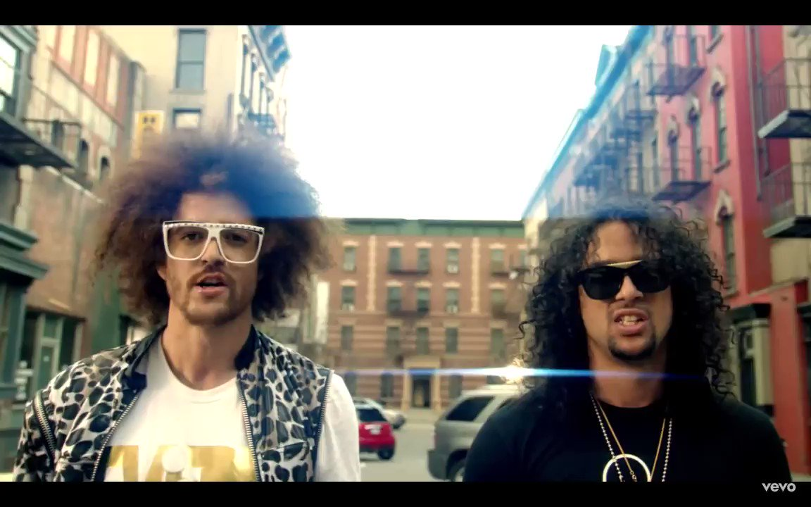 Party Rock Anthem has the same BPM as a lot of songs, and it's a glorious meme now