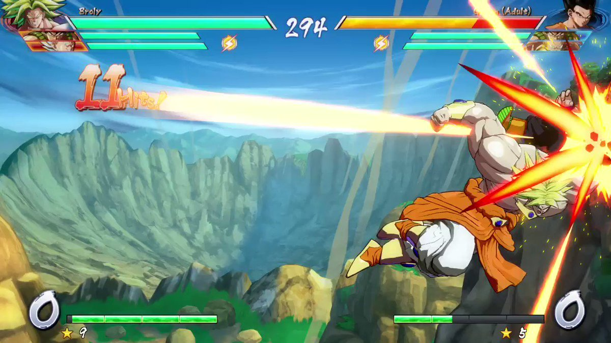 This happened during casuals today! #BROLY is nuts! @FightCoachFight @Dragongod7777 @Bum163 @llRicoSuavell https://t.co/4H6uO8GbFM