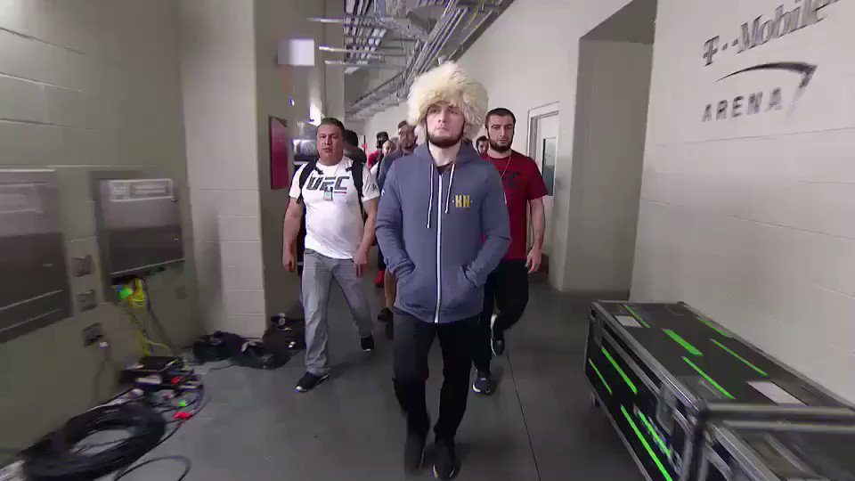 Khabib has arrived!!!!!!