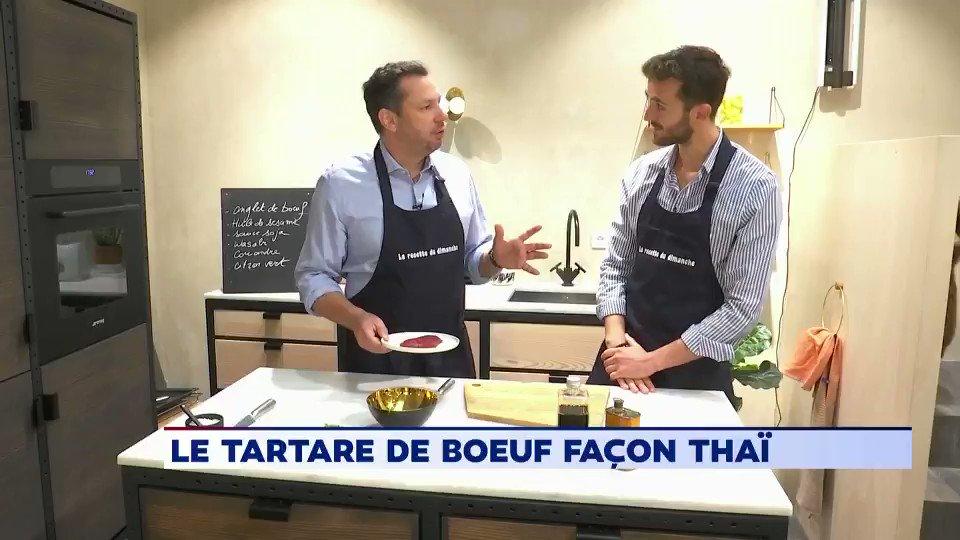 Pour tout savoir sur la recette du tartare de boeuf façon thaï et voir @cquarez en cuisine, ça se passe ici ➡️facebook.com/LaMatinaleWeek…