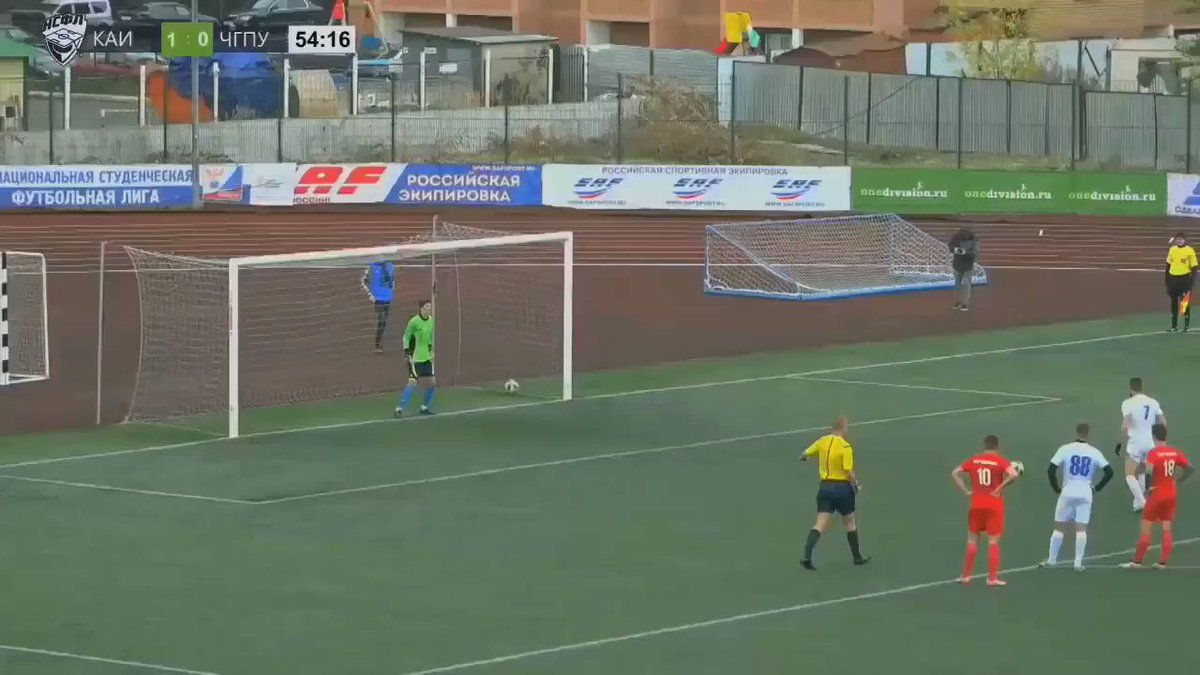 This backflip penalty kick is the biggest boss move in sports maybe ever
