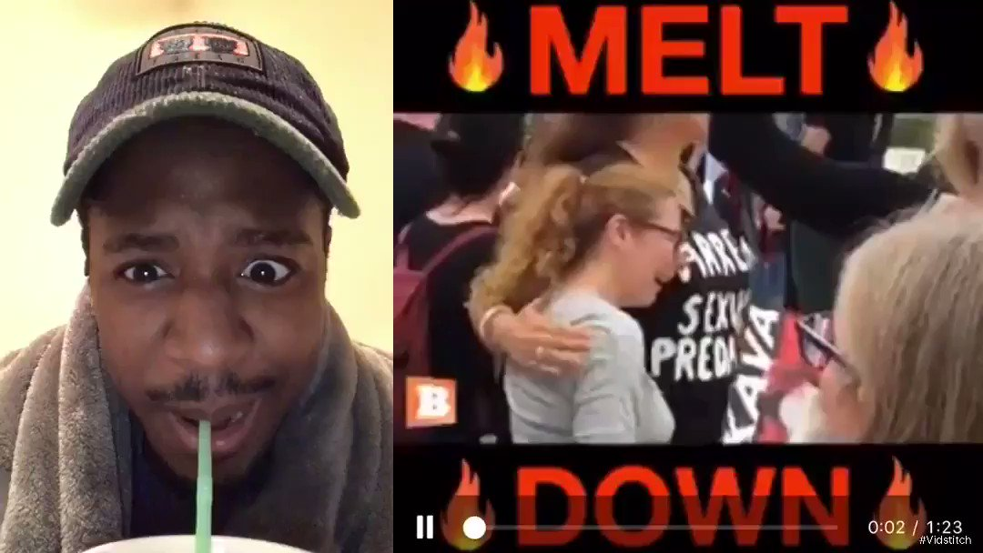 This is the Ultimate Melt Down. The Loony Left! What would they say if people on the Right acted like this ? I can't stop laughing! RETWEET SO everyone can get a good laugh #MondayMotivation