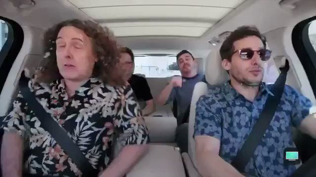 .@thelonelyisland will be on the new @CarpoolKaraoke season! the series comes back october 12th on apple tv! 🚗🎤