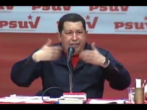 El PSUV debe ser corriente de alto voltaje para el Gobierno en todos los niveles para elevar la eficiencia, tiene que ser un acompañante del pueblo, Hugo Chávez. ENE2011
