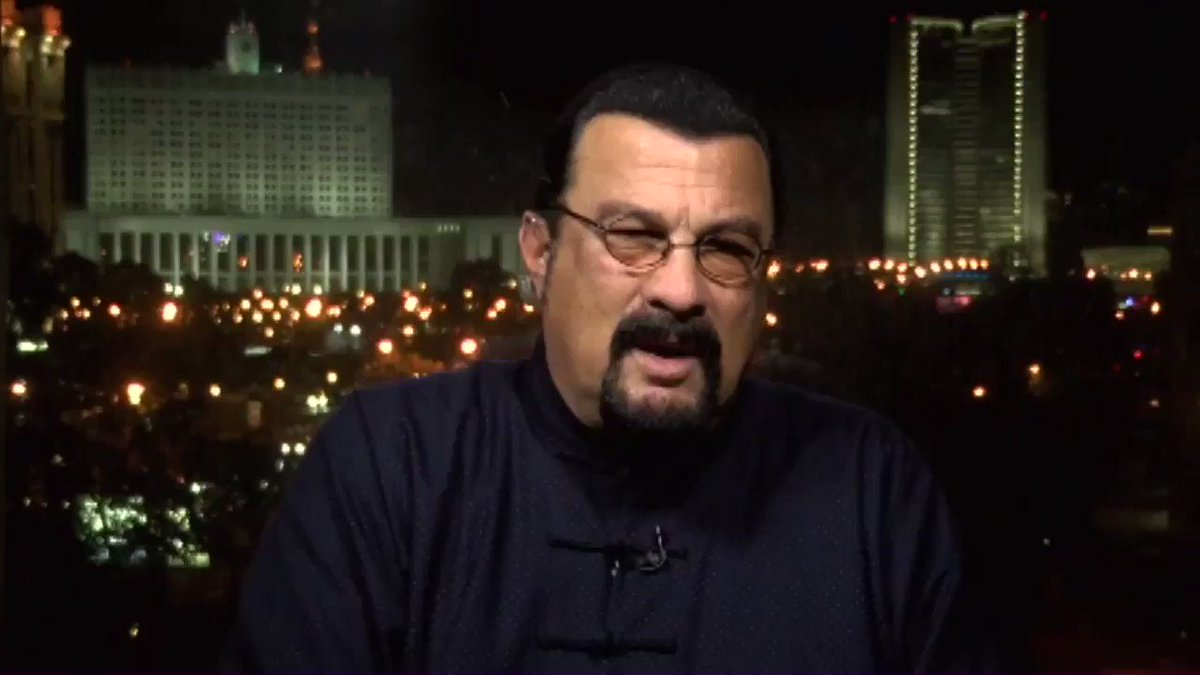 Tonight: @sseagalofficial on Russia Hysteria #StevenSeagal