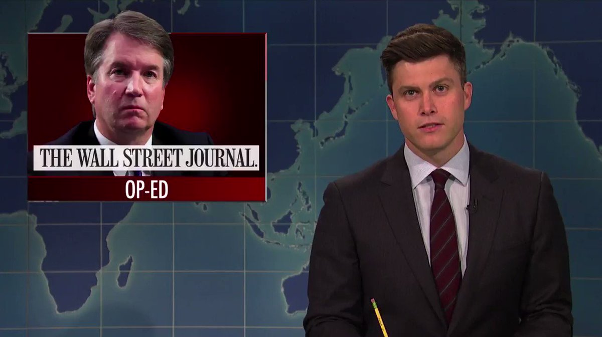 The Law & Order take on the Kavanaugh investigation (SNL)