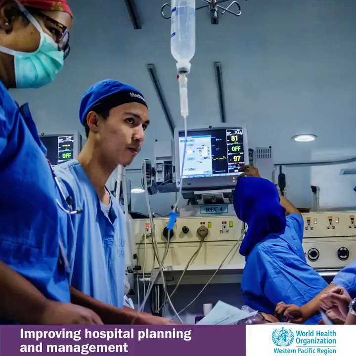 We all need hospital care at some point, but countries can struggle to ensure services are effectively planned & managed. #RCM69 is discussing an action framework to increase equitable access to people-centred, quality hospital services without financial hardship. #HealthForAll