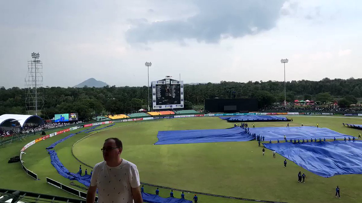 How to turn a cricket ground into the world's great slip 'n' slide... #bbccricket